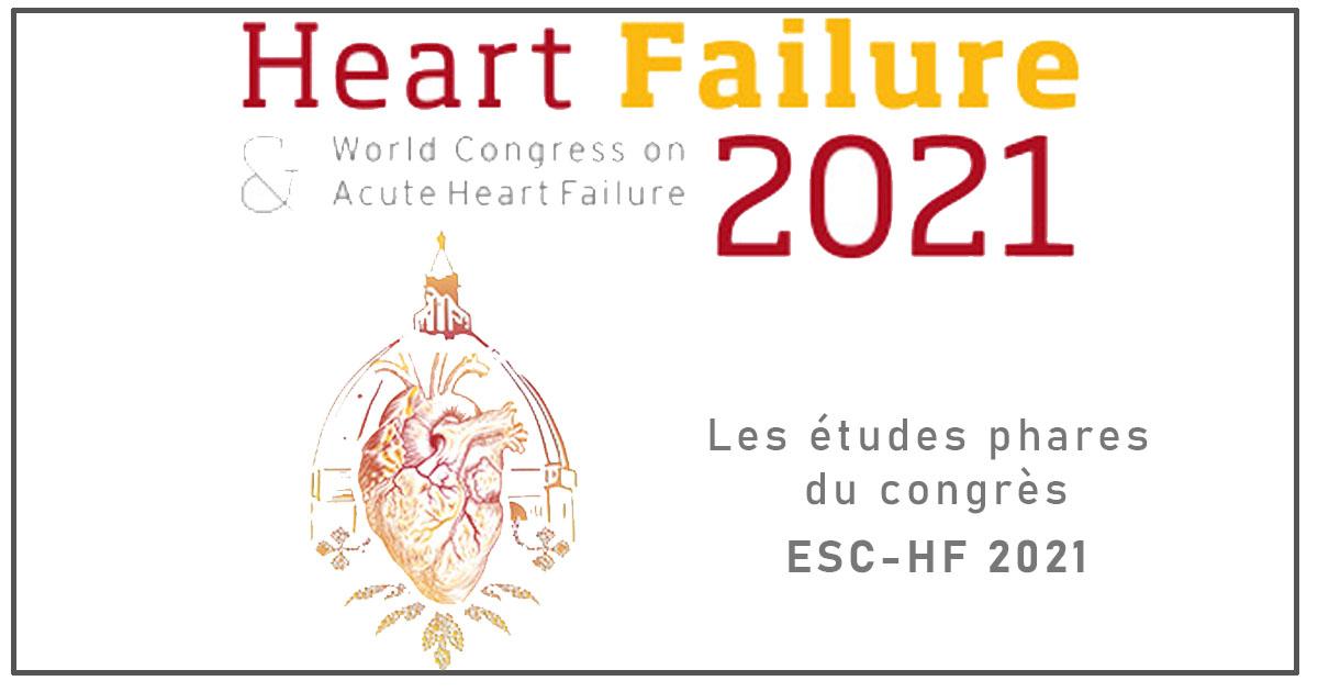 Les études phares du congrès ESC-HF 2021